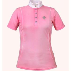 Polo Concours FEMME Pink Crystal Topstar, HORKA
