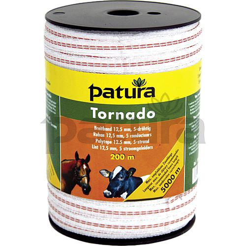 Ruban de cl ture lectrique chevaux tornado 20 mm pour - Ruban cloture electrique ...