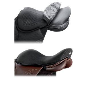 Acavallo Gel-Pad de massage-sans augmentation-Noir