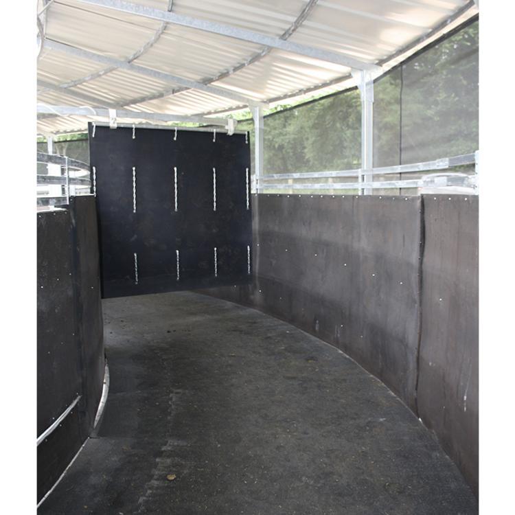 Arche en caoutchouc Cheval Box Rampe de remorque Tapis de 2,1/x 1,2/m/ /stable