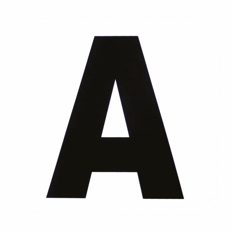 12 Lettres Adhesives Pour Carriere Dressage 40 X 60