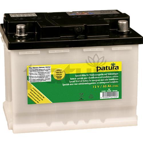batterie sp ciale pour electrificateur cl ture electrique 12 v 80 ah. Black Bedroom Furniture Sets. Home Design Ideas