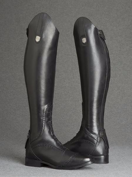 bottes dequitation en cuir
